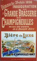 Collections Champigneulles : affiche inauguration